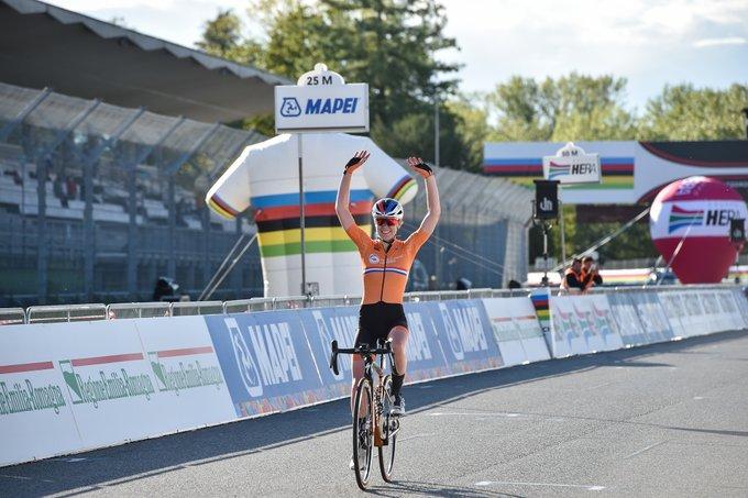 Anna van der Breggen dominatrice aux Championnats du monde