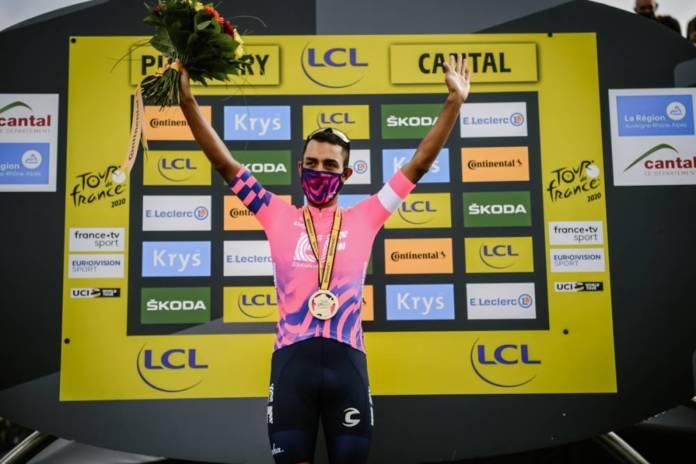 Daniel Felipe Martinez gagne la 13e étape du Tour de France dominé par Roglic