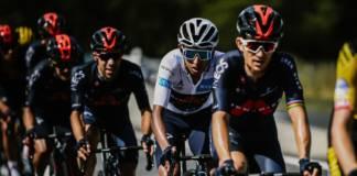 Egan Bernal moins fort que Primoz Roglic et Tadej Pogacar sur le Tour de France 2020
