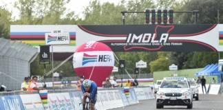 Filippo Ganna vainqueur aux championnats du monde du chrono