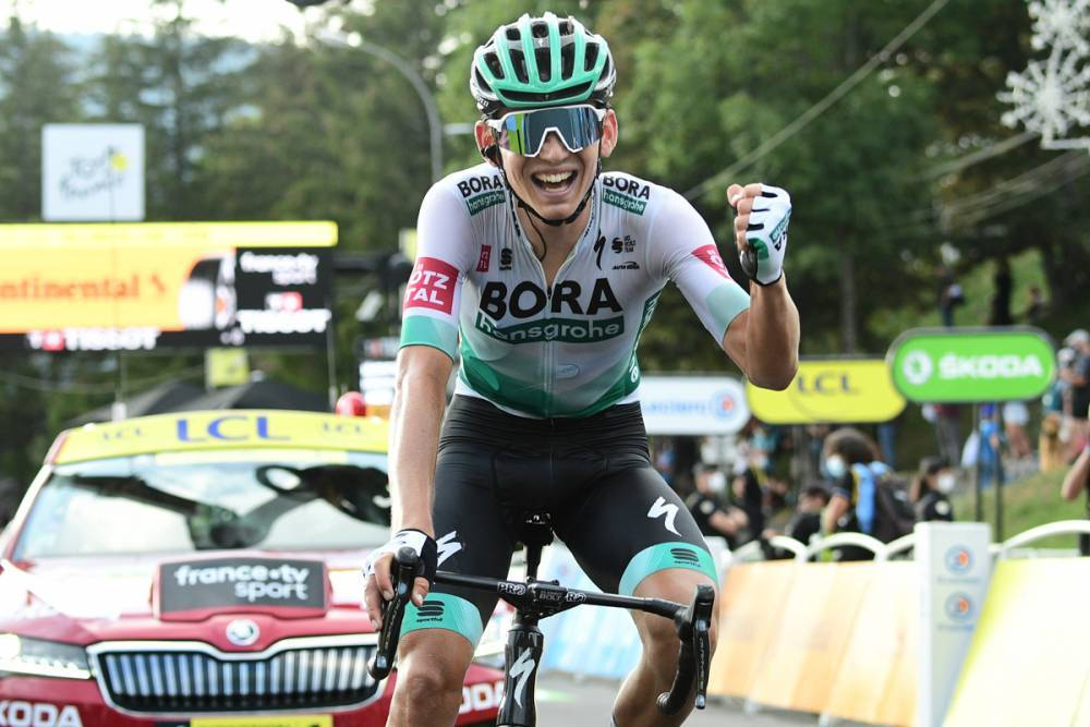 Lennard Kämna vainqueur en solitaire de la 16e étape du Tour de France