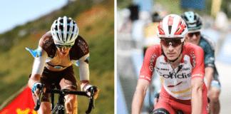 Romain Bardet et Guillaume Martin ont été relégués hors du Top 10 à l'occasion de la 13e étape du Tour de France 2020