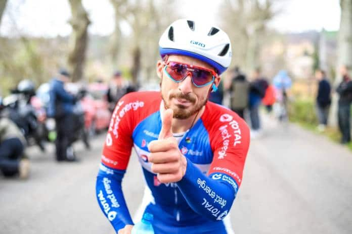 Niccolo Bonifazio leader du Team Total Direct Energie