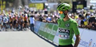 Peter Sagan doit à nouveau céder son maillot vert à Sam Bennett