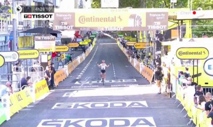 Soren Kragh Andersen remporte l'éatpe 14 du Tour de France 2020