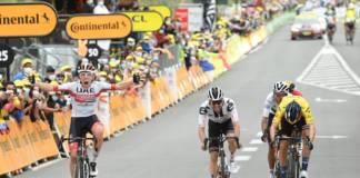 Tadej Pogacar remporte la 9e étape du Tour de France, Primoz Roglic en jaune