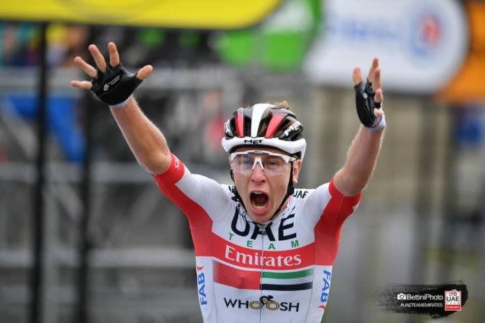 Tadej Pogacar a encore attaqué sur les routes du Tour de France 2020 et a remporté la 9e étape