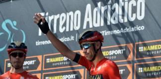 Tirreno-Adriatico 2020 avec Nibali dans les engagés