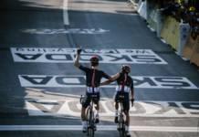 kwiatkowski et carapz ensemble étape 18 tour de france 2020