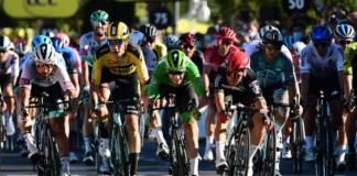 Caleb Ewan vainqueur sur l'étape 11 du Tour de France