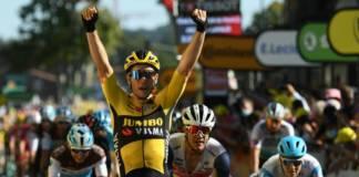 Wout van Aert continue à briller sur le Tour de France