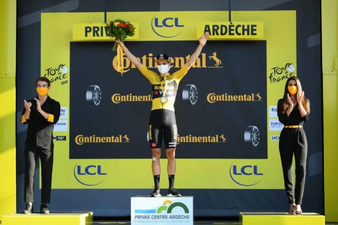 Tour de France 2020 Wout Van Aert vainqueur d'étape