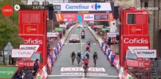 Le classement complet de la 2e étape de la Vuelta 2020