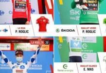 Classement complet étape 5 Vuelta 2020