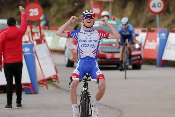 David Gaudu s'illustre sur les routes de la Vuelta 2020