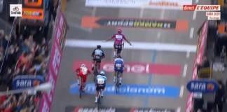 Victoire d'Arnaud Démare sur la 11e étape du Giro 2020