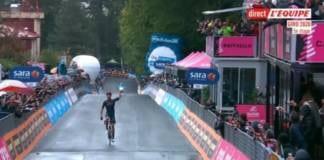 Filippo Ganna remporte l'étape 5 du Giro 2020