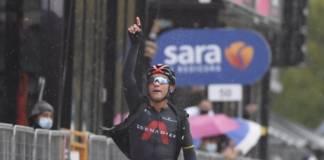 Giro 2020 étape 12 pour Jhonatan Narvaez