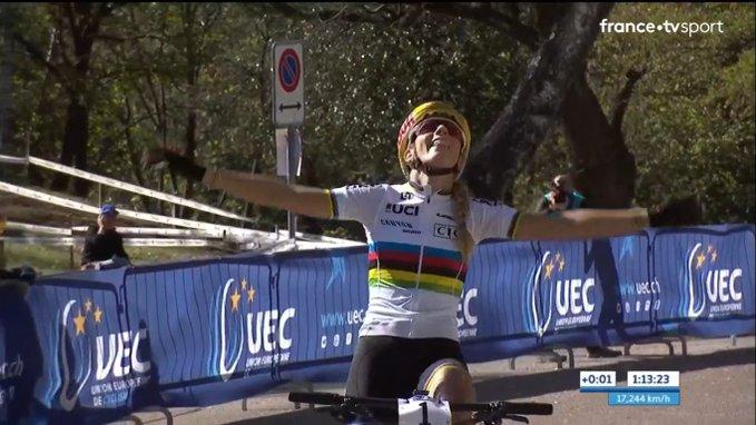 Pauline Ferrand-Prévot survole le championnat d'Europe