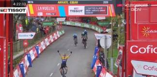 Primoz Roglic remporte la 1ère étape de la Vuelta 2020