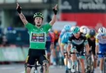 Troisième victoire d'étape pour Primoz Roglic sur la Vuelta 2020