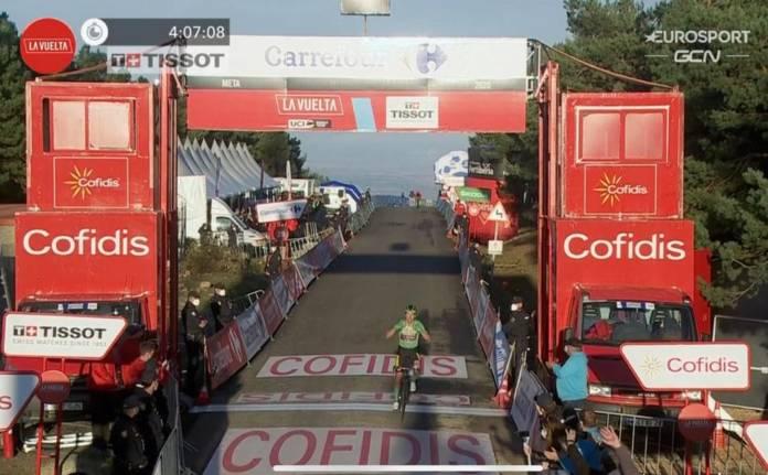 Victoire de Primoz Roglic sur la 8e étape de la Vuelta 2020