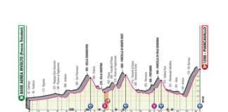 Profil de la 15e étape du Giro 2020 arrivée au sommet à Piancavallo