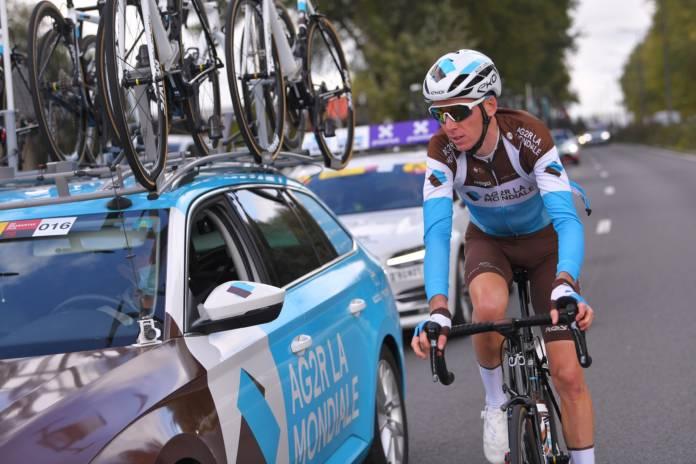 Romain Bardet portera pour la dernière fois le maillot AG2R La Mondiale à l'occasion du Tour des Flandres le dimanche 18 octobre 2020