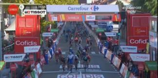 La 9e étape de la Vuelta 2020 remportée par Pascal Ackermann