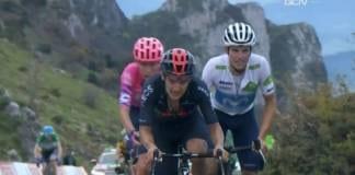 Classement complet de la 12e étape de la Vuelta 2020