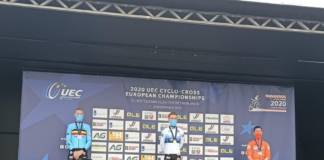 Eli Iserby domine le championnat d'Europe de cyclo-cross