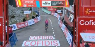 Vuelta 2020 victoire de Hugh Carthy à l'Angliru