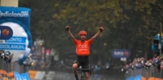 Josef Cerny courra en 2021 avec le maillot de Deceuninck - Quick Step