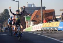Victoire de Lucinda Brand au sprint à Courtrai