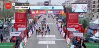 Magnus Cort Nielsen à la fête sur la 16e étape de la Vuelta 2020