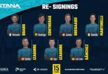 Astana continuera à compter sur les frères Izagirre et Sanchez