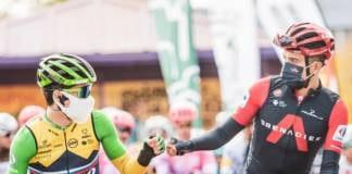 Primoz Roglic et Richard Carapaz pour un maillot rouge au sommet de l' Angliru