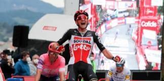 Classement complet de la 14e étape de la Vuelta 2020