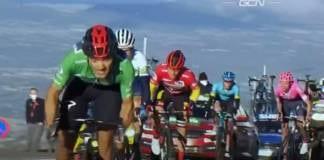 Classement complet de la17e étape de la Vuelta 2020