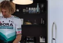 BORA - hansgrohe avec le maillot 2021 présenté