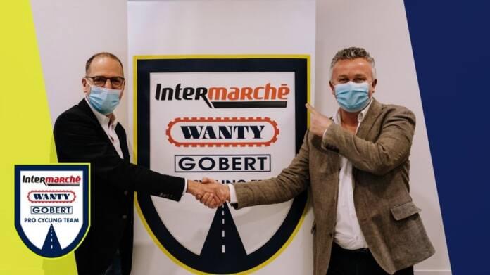 Wanty - Gobert annonce le partenariat d'Intermarché