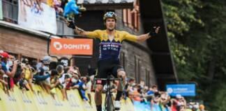 Primoz Roglic a souvent imposé sa loi dans le cyclisme mondial cette année
