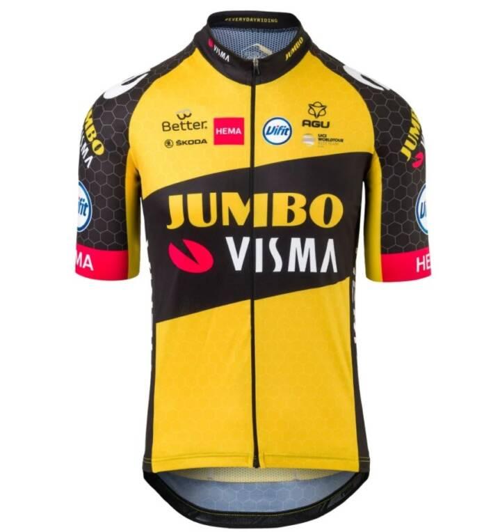 Le Team jumbo-Visma présente son maillot