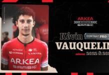 Kévin Vauquelin bientôt coureur d'Arkéa Samsic