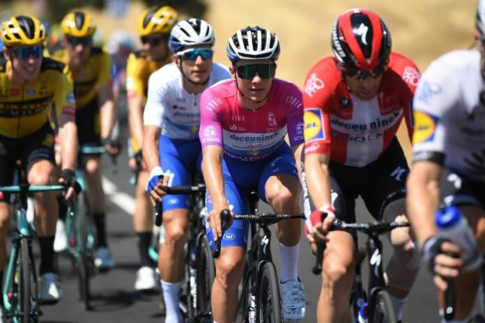 Remco Evenepoel compte être à son top pour le Giro