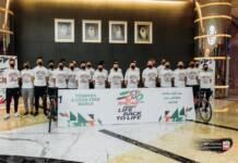 Vaccination des coureurs et membres du staff chez UAE Team Emirates