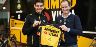Wout van Aert prolonge chez Jumbo-Visma jusqu'en 2024