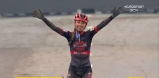 Denise Betsema tient la forme sur cette fin de saison en cyclo-cross