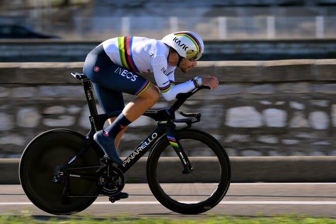 Le chrono de l'UAE Tour 202 revient sans surprise à Filippo Ganna