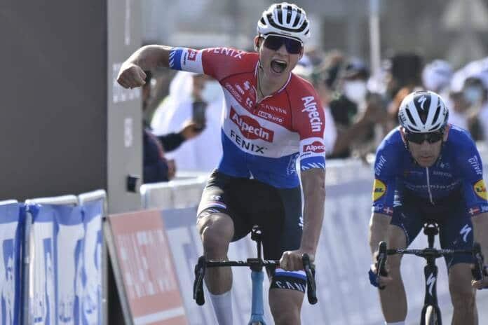Mahtieu van der Poel commence sa saison 2021 par une victoire sur l'UAE Tour 2021